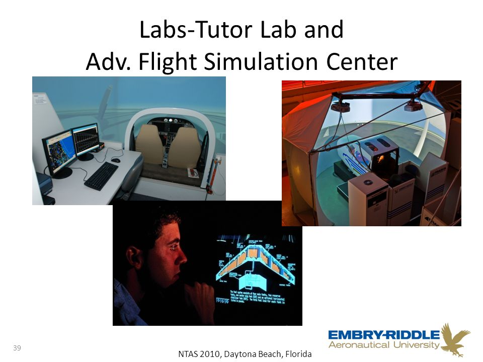 NTAS 2010, Daytona Beach, Florida Labs-Tutor Lab and Adv. Flight Simulation Center 39