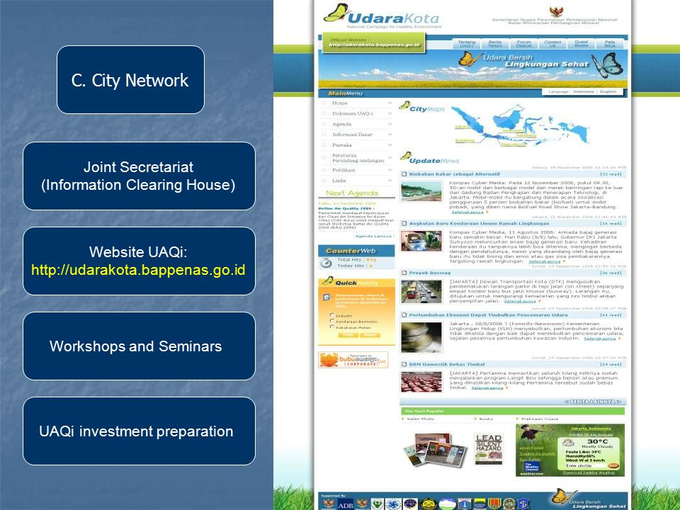 10 Website UAQi:   UAQi investment preparation Joint Secretariat (Information Clearing House) Workshops and Seminars C.
