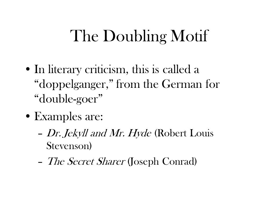 examples of duality in literature