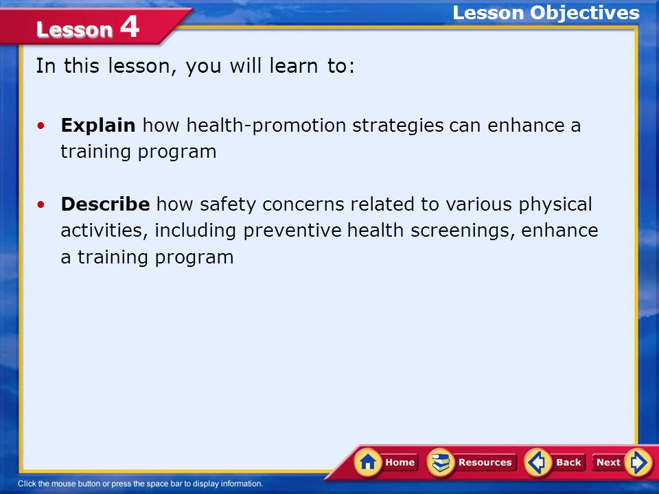236bccdcc Lesson Lesson 4 Do you follow a proper nutrition plan and get health ...