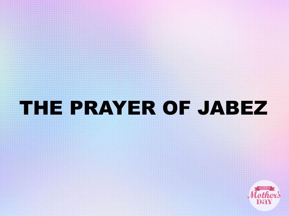 I TRIPPLE DOG DARE YA!  THE PRAYER OF JABEZ 1 Chron  4:9-10 ESV