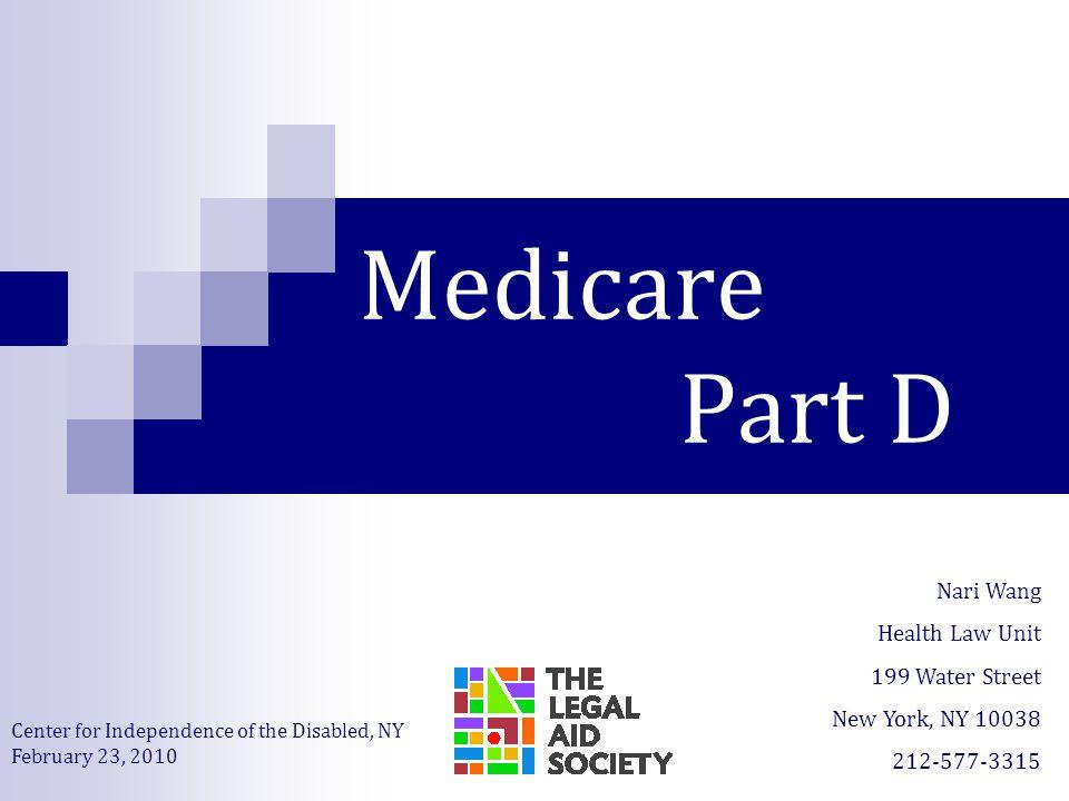 medicare part d powerpoint presentation