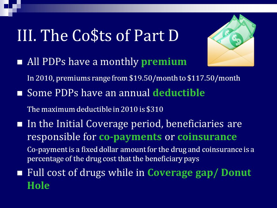 Medicare Part D – an overview I. What is Medicare Part D.