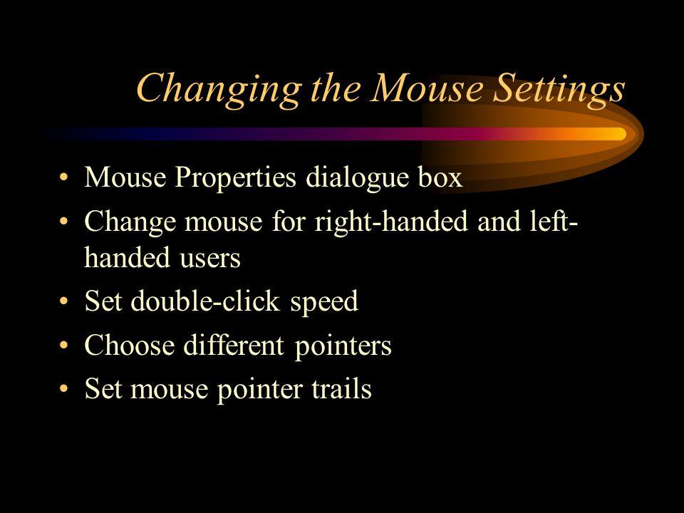 Microsoft Windows 95 Using the Control Panel, Taskbar, and