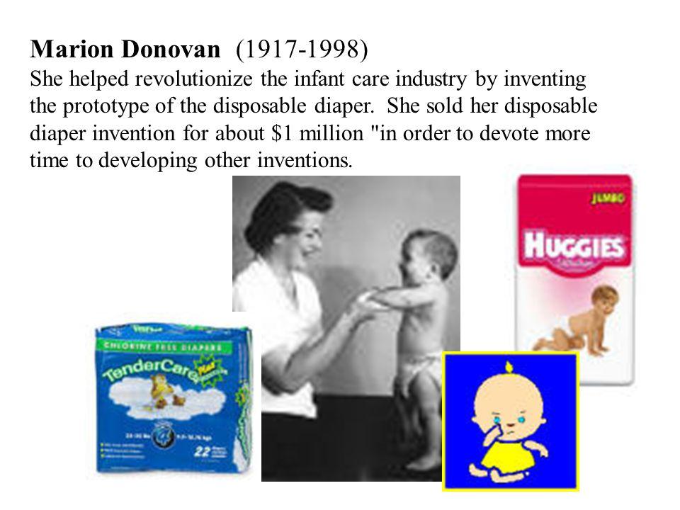 marion donovan inventor