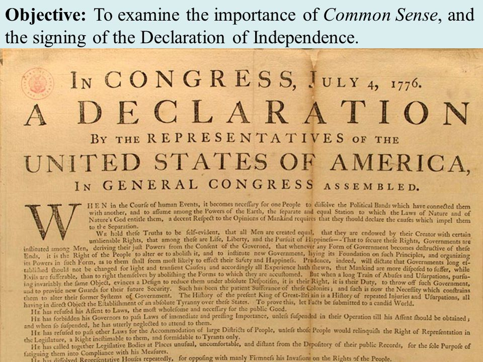 have americans lived up to the ideals of the declaration of independence The declaration of independence is a statement adopted by the continental congress on july 4, 1776, announcing that the thirteen american colonies then at war with great britain were no longer a part of the british empire.