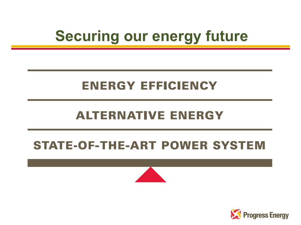 Securing our energy future