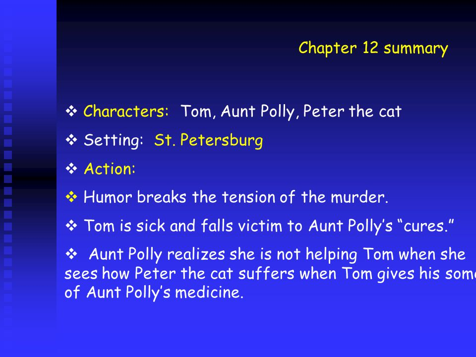 tom meets becky summary