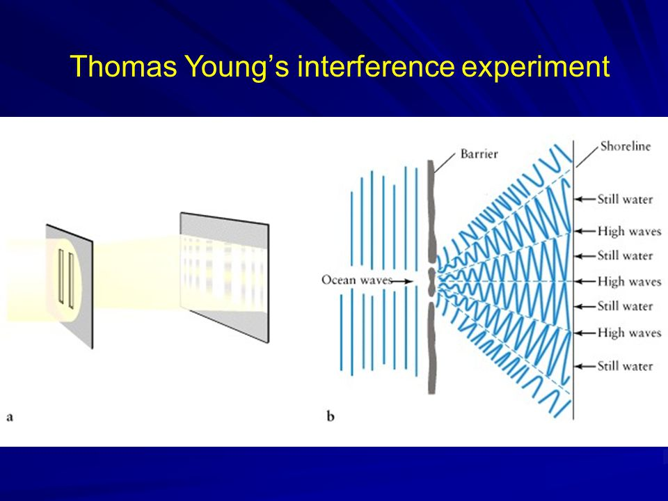 Thomas Young's interference experiment