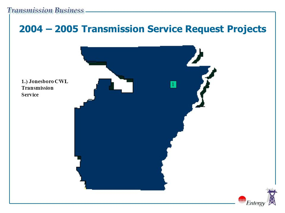 Entergy Arkansas, Inc  Proposed Transmission Projects