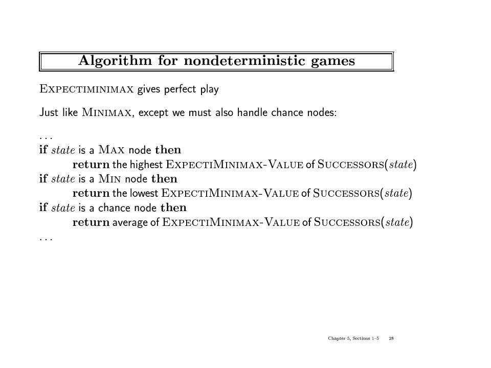 Game-Playing & Adversarial Search - ppt video online download