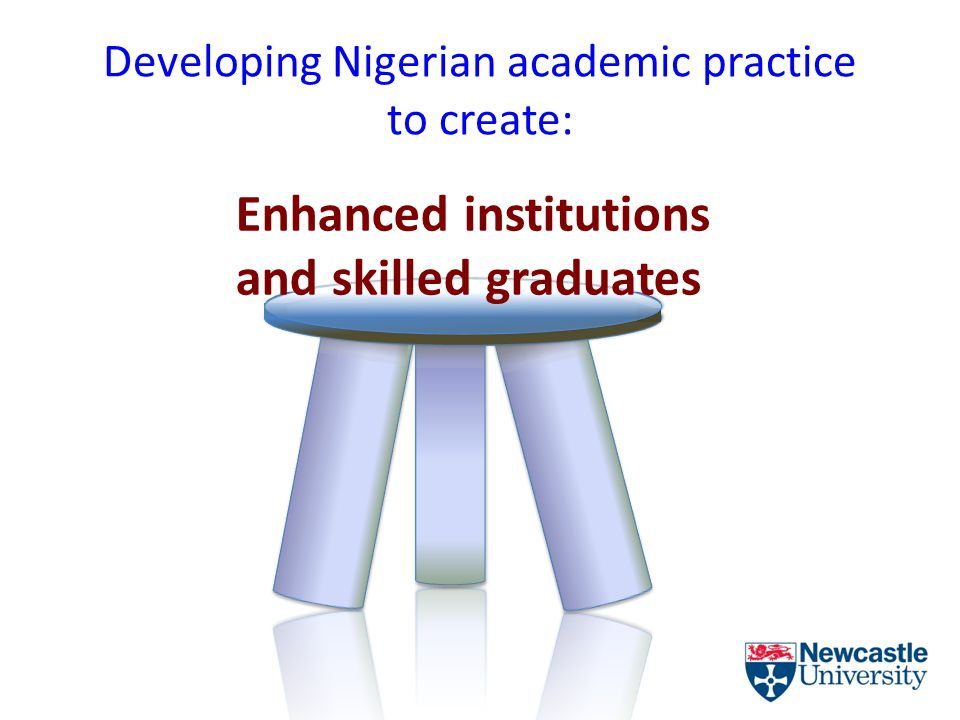 Developing Nigerian academic practice to create: Enhanced institutions and skilled graduates