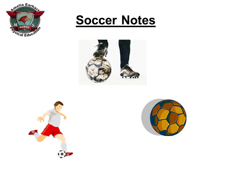 Soccer Notes Field Diagram Penalty Area Center Circle Sideline