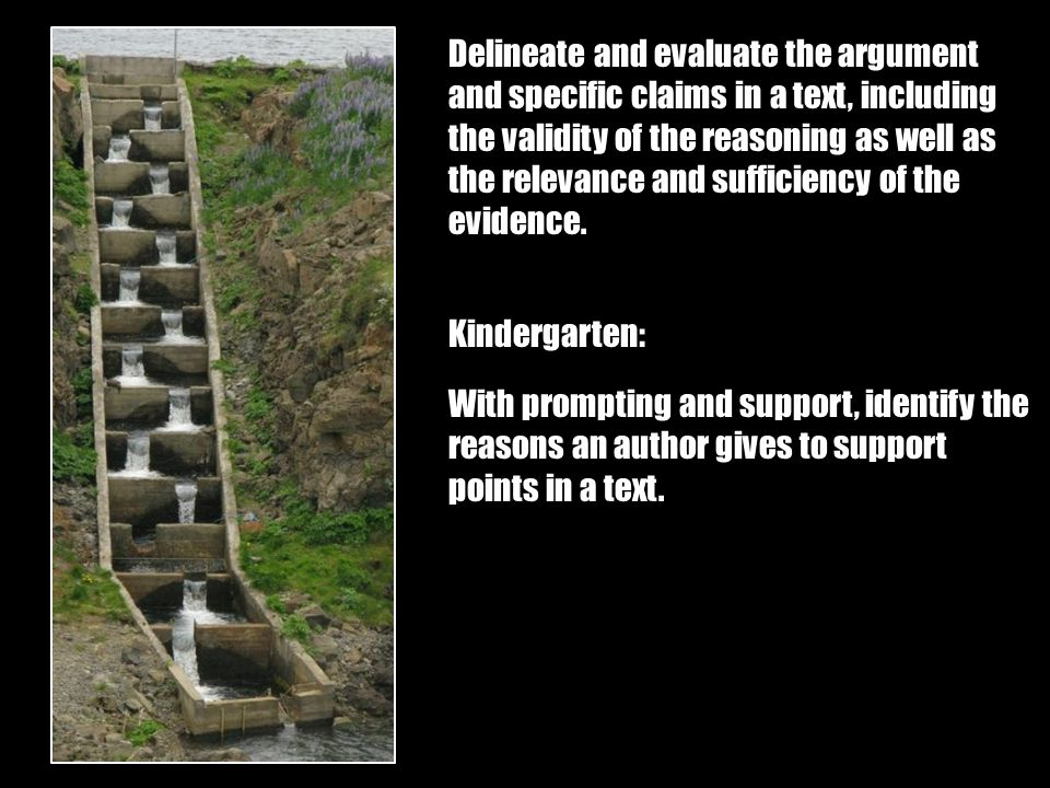 Delineate and evaluate the argument and specific claims in a text, including the validity of the reasoning as well as the relevance and sufficiency of the evidence.