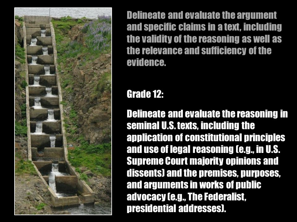 Delineate and evaluate the reasoning in seminal U.S.