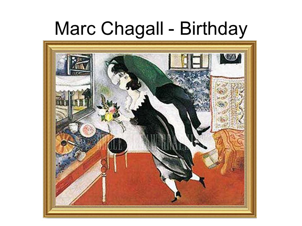 Marc Chagall - Birthday