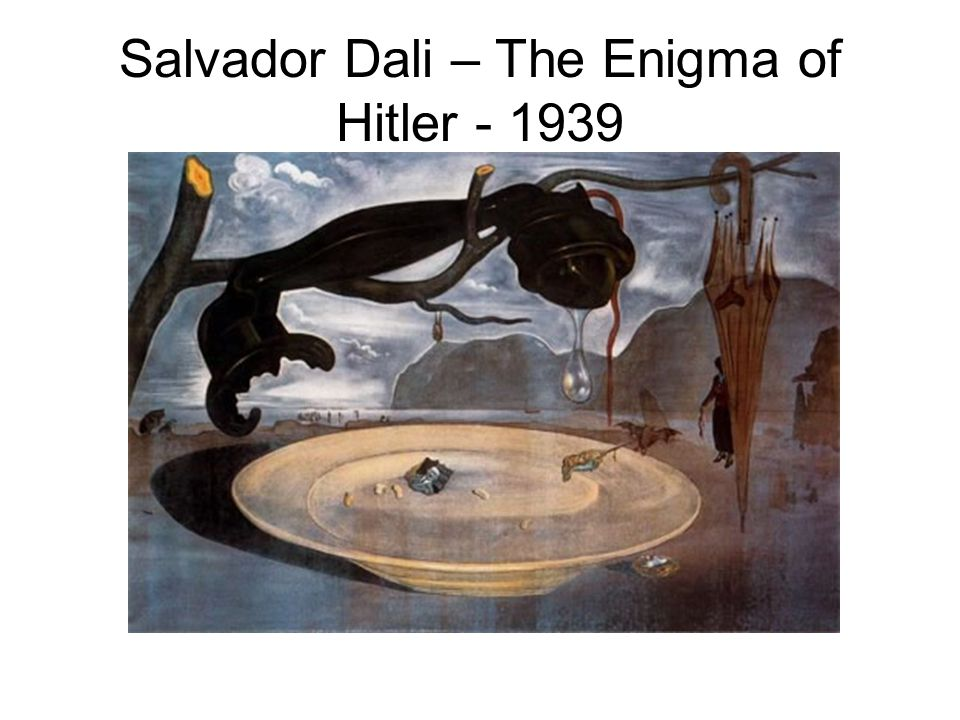 Salvador Dali – The Enigma of Hitler