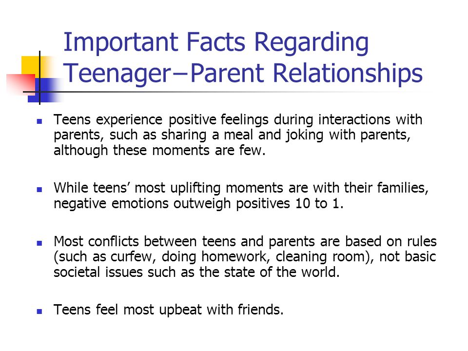 facts about relationships teenage