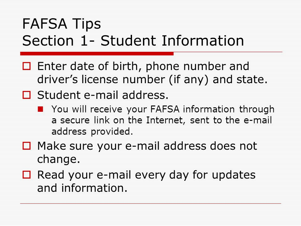 why does fafsa need drivers license