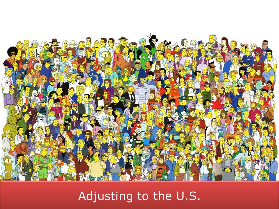 Adjusting to the U S   Neighborhoods  Areas close to UMD