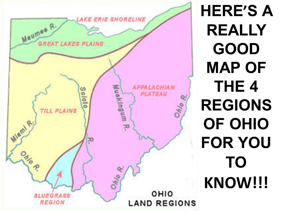Ripley Ohio Map.Ohio S Regions Here Are Some Maps Facts And Pictures Of Ohio S