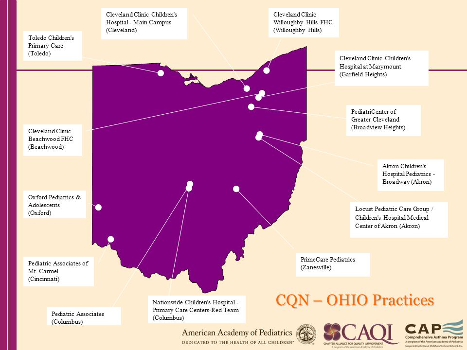 Ohio Chapter Aap Chapter Quality Network Asthma Pilot Project