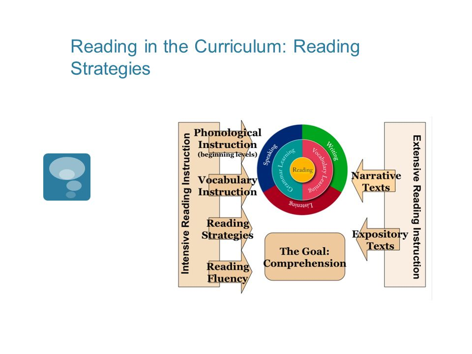 Reading in the Curriculum: Reading Strategies