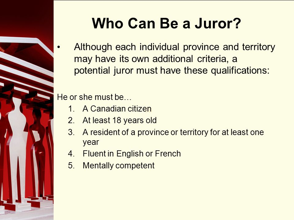 90 Who Can Be a Juror.