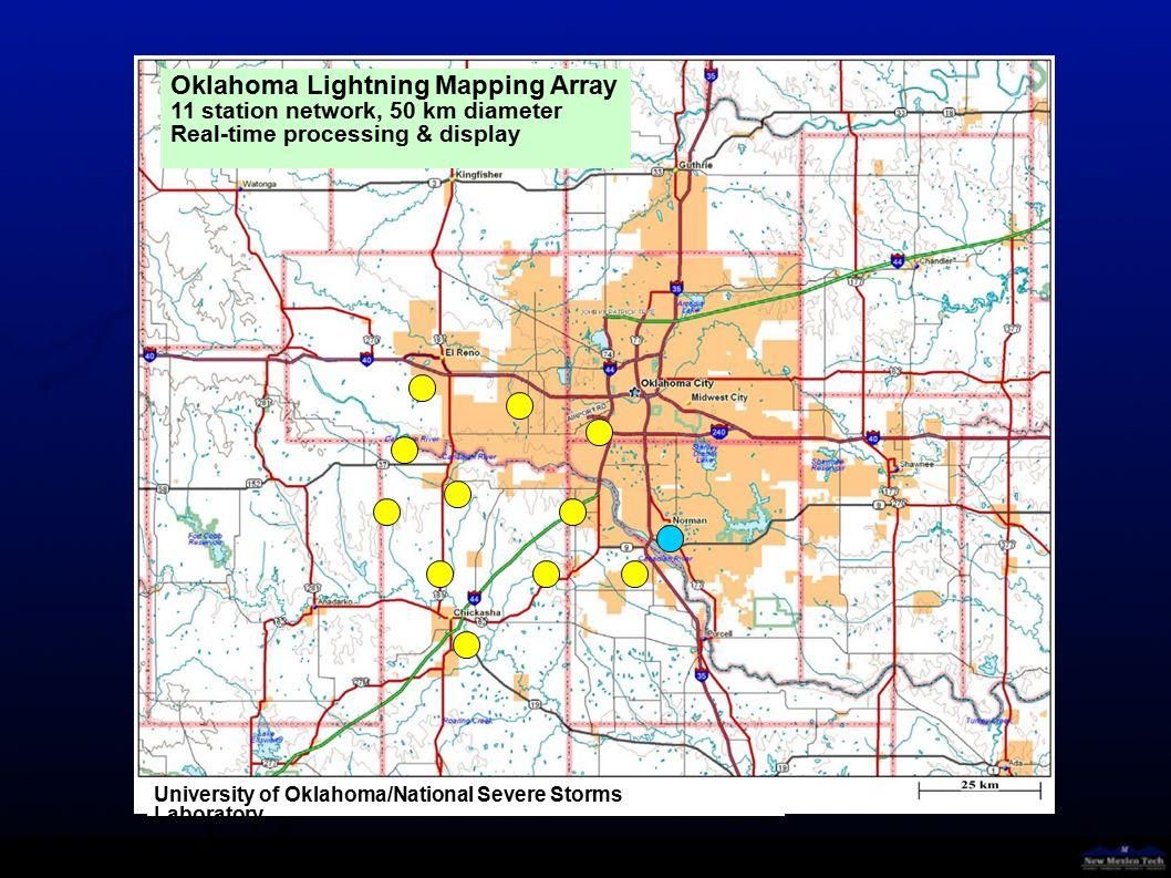 Lightning Climatology Oklahoma Lightning Mapping Array May