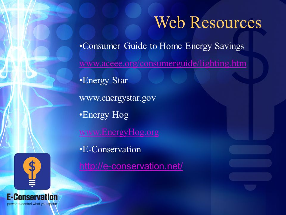 17 Web Resources Consumer Guide To Home