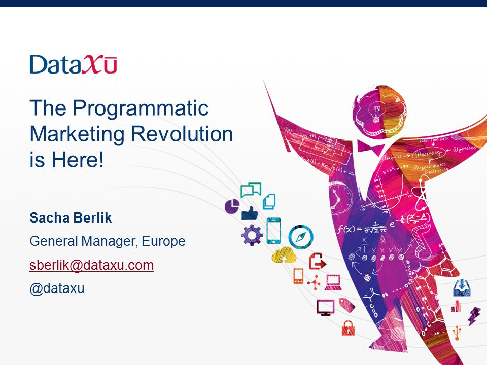 The Programmatic Marketing Revolution is Here.
