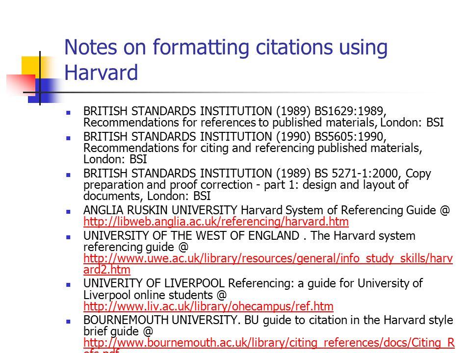 Harvard Referencing Guide Pdf