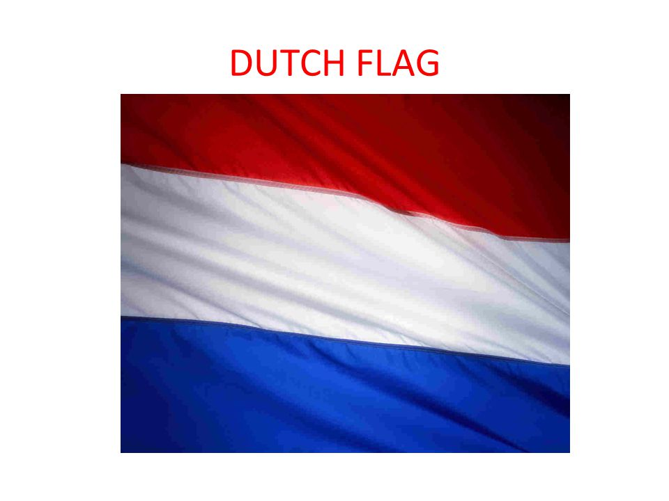 2 Dutch Flag