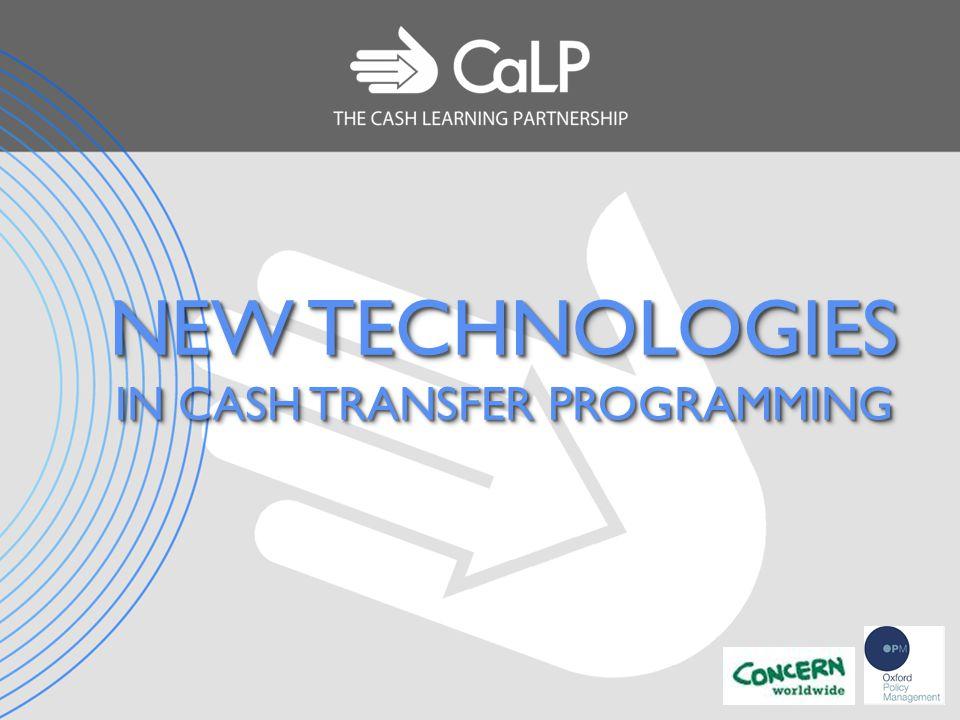 new technologies in cash transfer programming purpose and scope of rh slideplayer com