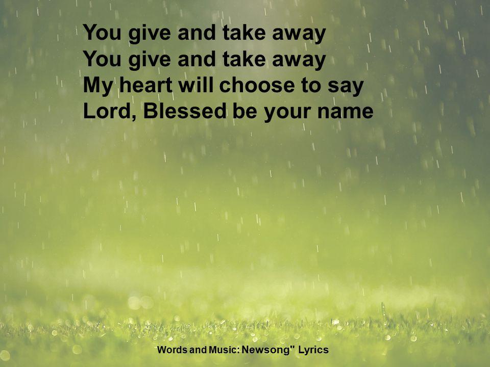 Lyric i choose the lord lyrics : 1. Please use silent mode on your phone 3 ral.com/church-media ...
