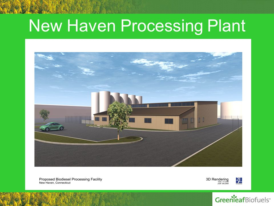 New Haven Processing Plant