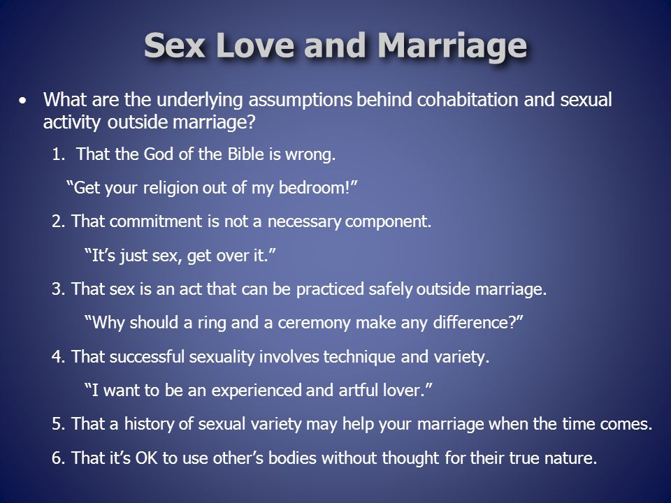 Hebrews 13 Christian Distinctives: Marriage and Sexuality