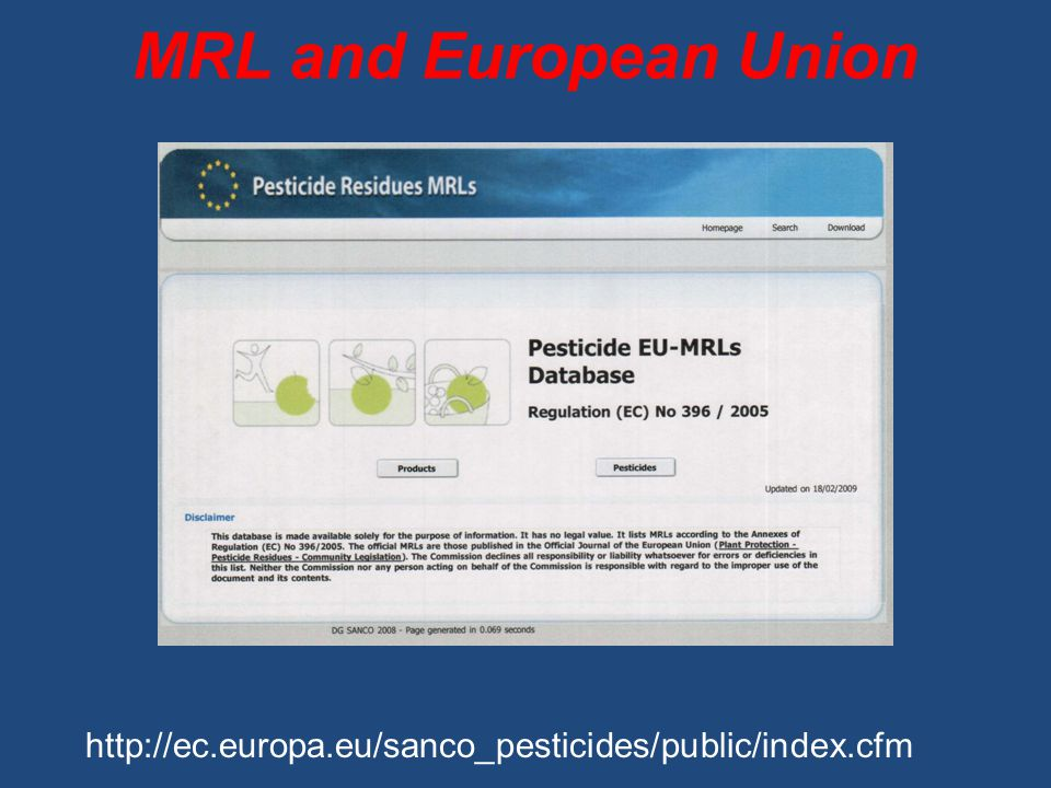 MRL and European Union