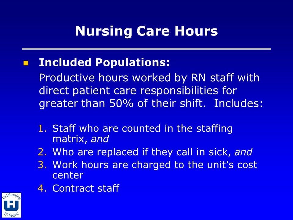 Nurse Sensitive Quality Indicators (NSQI) Definitions and