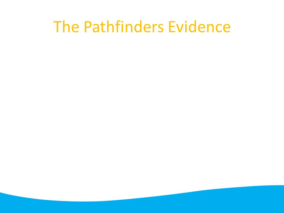 The Pathfinders Evidence