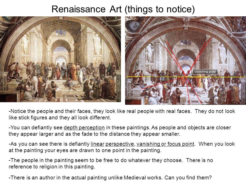 renaissance art vs medieval art medieval art things to notice