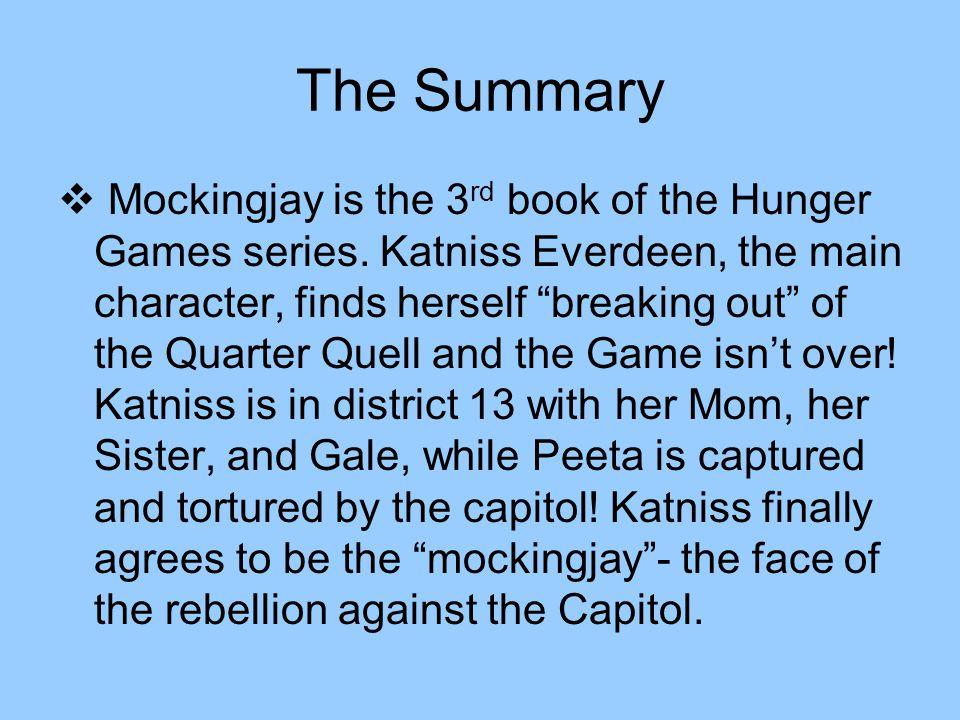 hunger games mockingjay book report