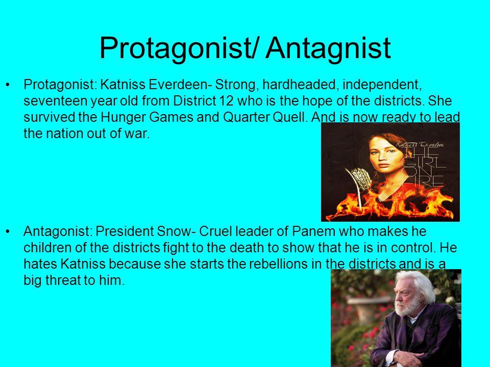 protagonist of hunger games