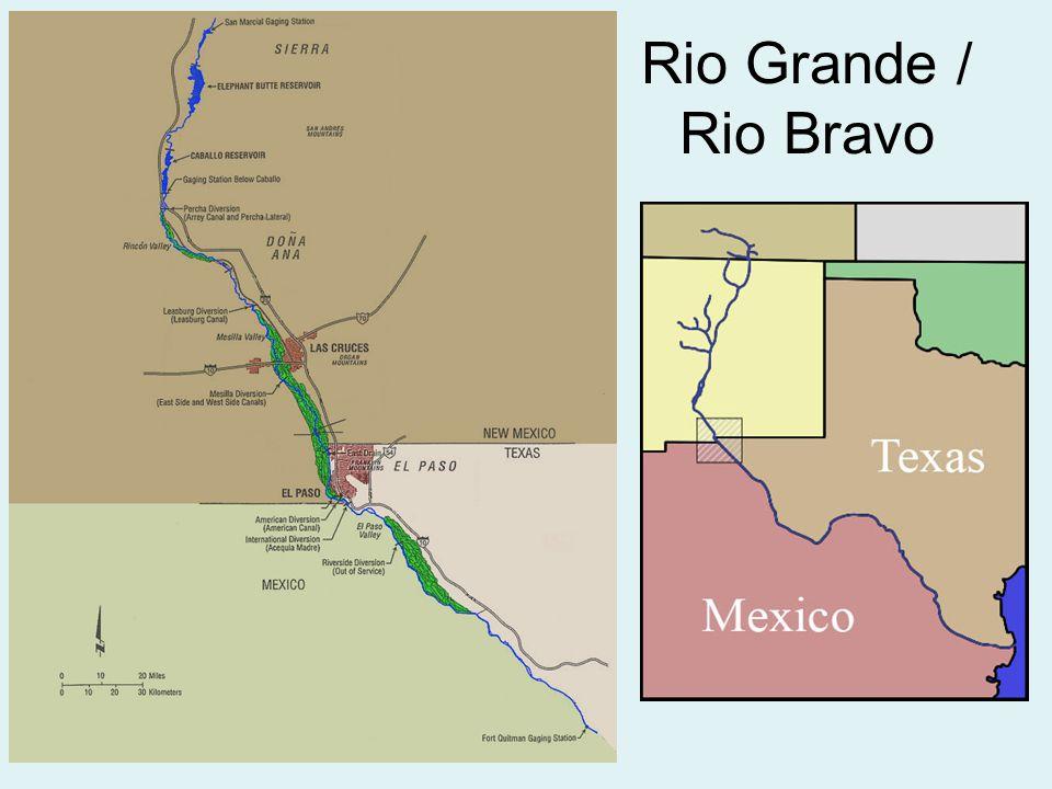 Rio Bravo Mexico Map.Restoration Of The Rio Grande Between El Paso Texas And Ciudad