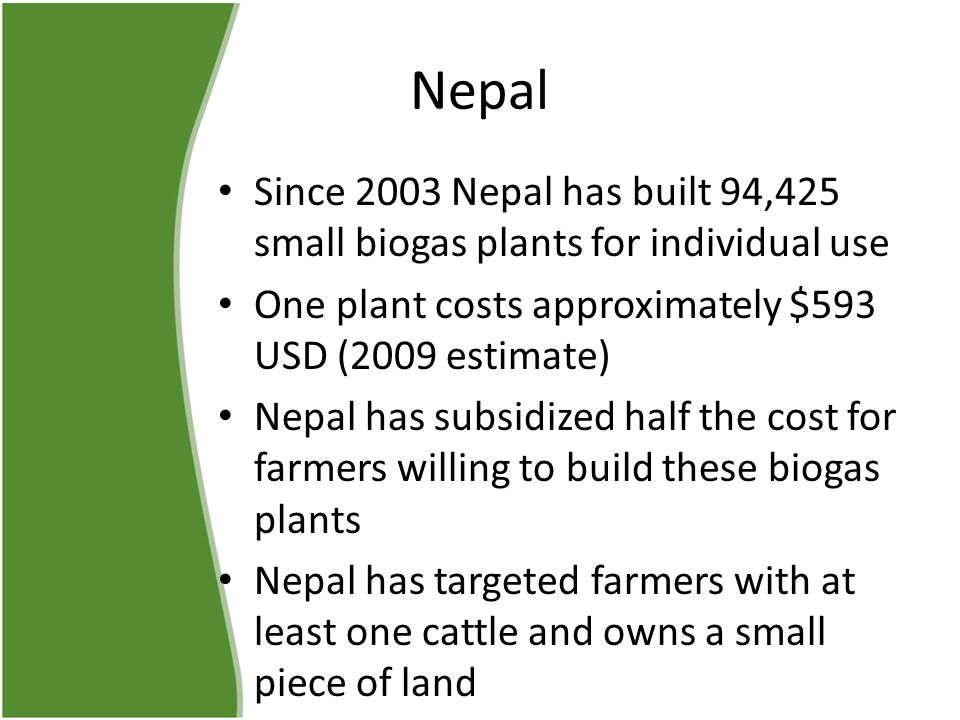Biogas Digestion by Michael Klima - ppt download