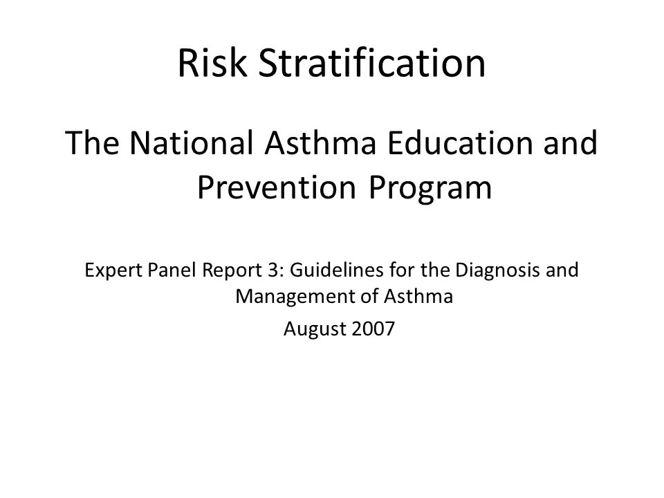 Care Management of a Population: Focus on Asthma CHOP Care