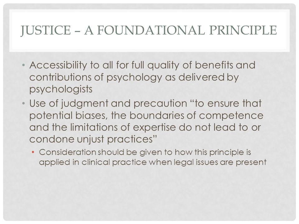 legal issues associated with clinical psychology
