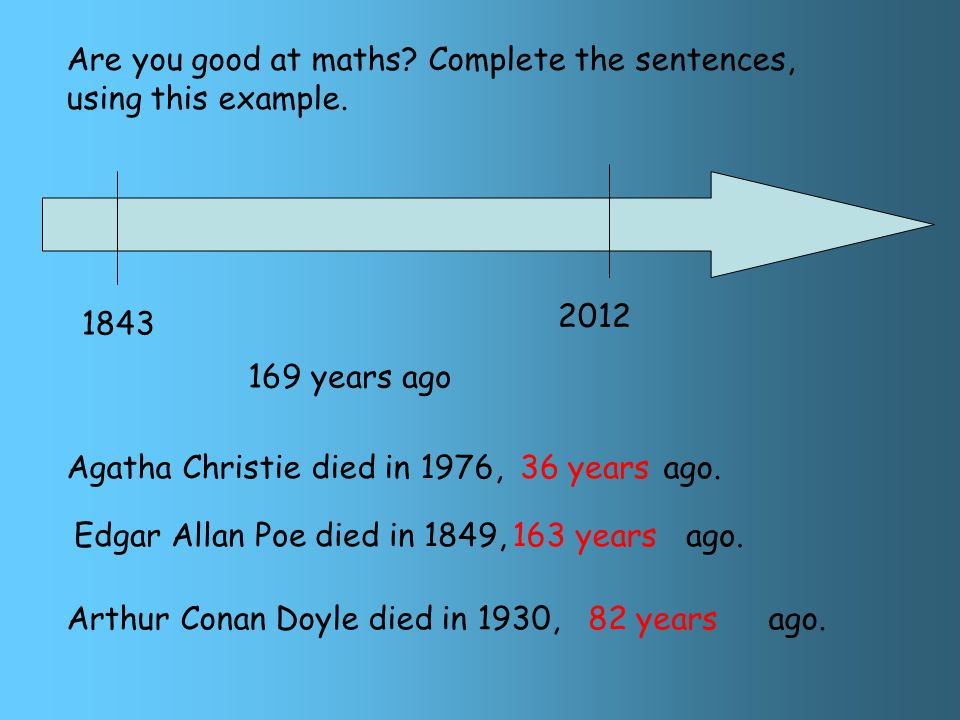 Arthur Conan Doyle was born in He died in He was Scottish and invented Sherlock Holmes.