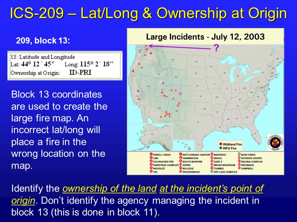 Large Incident Fire Map.The National Interagency Management Situation Report Imsr What Is