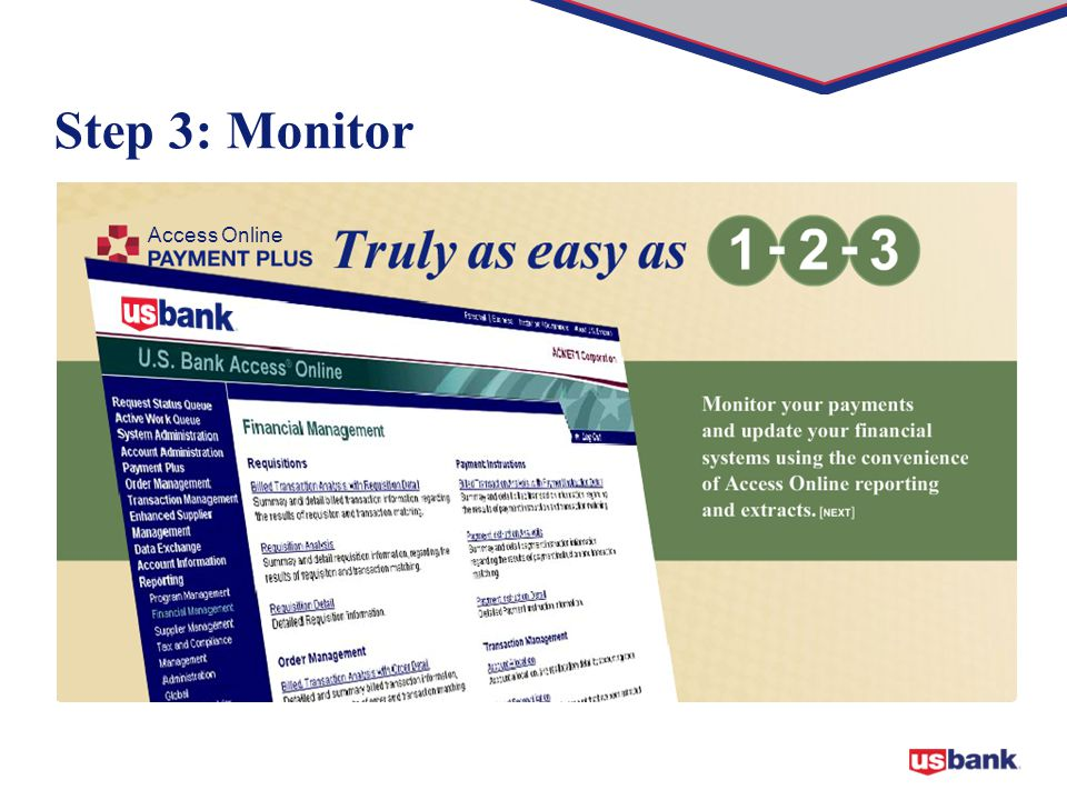 Step 3: Monitor Access Online